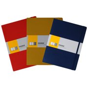 "Exceed Ruled Classic Notebook, Large, 7.5"" x 9.75"" (Color May Vary)"