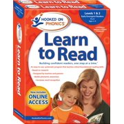 Hooked on Phonics Learn to Read - Levels 1&2 Complete : Early Emergent Readers (Pre-K | Ages 3-4)
