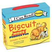 My First I Can Read: Biscuit: More 12-Book Phonics Fun!: Includes 12 Mini-Books Featuring Short and Long Vowel Sounds (Paperback)