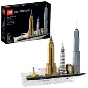 LEGO Architecture New York City 21028 Model Kit for Adults and Kids (598 pcs)