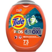 Tide Pods Plus Ultra Oxi, 73 Ct Laundry Detergent Pacs