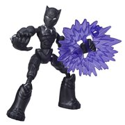 Marvel Avengers Bend And Flex Black Panther, Includes Blast Accessory