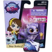 Littlest Pet Shop Get The Pets Single Pack Bingo Blueberg Doll