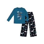 Wonder Nation Boys 2-Piece Pajama Set Sizes 4-18 & Husky