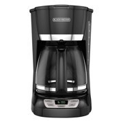 BLACK+DECKER 12-Cup* QuickTouch Programmable Coffeemaker, Black, CM1060B